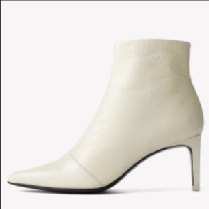 Rag & Bone Beha White Patent Leather Bootie Size 9